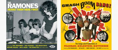 Ramones and Feldman, Goldstein, Gottehrer CD Sleeves