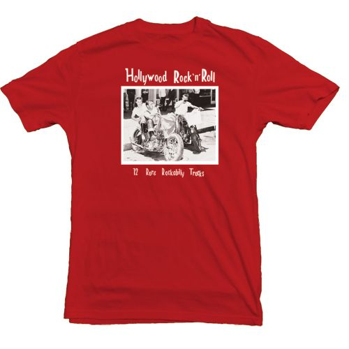 Hollywood Rock'n'Roll T Shirt Red [40]