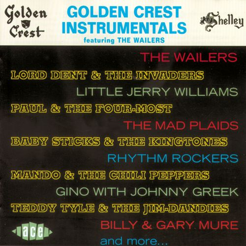 Golden Crest Instrumentals Featuring The Wailers (MP3)
